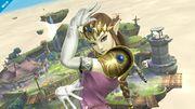 Zelda viendo hacia el frente en Altárea SSB4 (Wii U).jpg