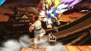 Ryu y Mario en el Castillo de Suzaku SSB4 (Wii U).jpg