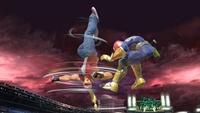 Terry usando Rising Tackle en Super Smash Bros. Ultimate.