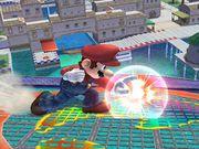 Ataque Smash lateral hacia abajo Mario SSBB.jpg