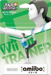 Embalaje del amiibo de Entrenadora de Wii Fit (Japón).jpg