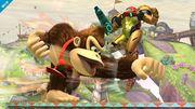 Donkey Kong Atacando SSB4 (Wii U).jpg