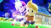 Ness y Lucas en Galaxia de Mario SSB4 (Wii U).jpg