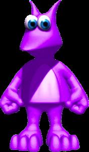 Jinjo púrpura en Banjo-Kazooie La Venganza de Grunty.png