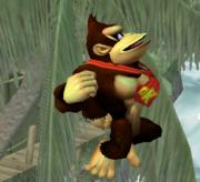 Ataque aéreo hacia arriba de Donkey Kong (1) SSBM.png