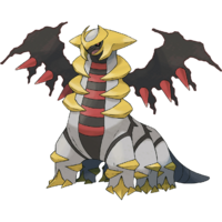 Art oficial de Giratina en su forma modificada en Pokémon Diamante y Perla.png