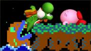 Créditos Modo Leyendas de la lucha Yoshi SSB4 (3DS).png