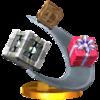 Trofeo de Cajas rodantes SSB4 (3DS).png