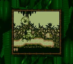Captura de pantalla de Donkey Kong Land.