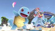 Entrenador Pokémon y Squirtle en el Campo de batalla SSBU.jpg