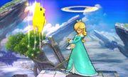 Ataque fuerte hacia arriba de Estela y Destello SSB4 (3DS).jpg