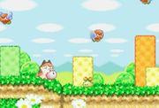 Kirby junto a varios Brontos en Kirby's Dream Land 3.jpg