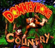 Pantalla de titulo de Donkey Kong Country.jpg