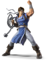Art oficial de Richter en Super Smash Bros. Ultimate