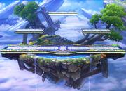 Campo de batalla portada SSB4 (3DS).png