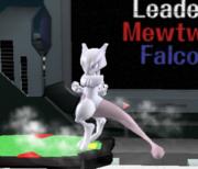Ataque de recuperación de cara al suelo de Mewtwo (2) SSBM.png