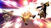 Daraen usando su Smash Final contra Samus SSB4 (Wii U).png