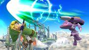 Genesect atacando a Toon Link SSB4 (Wii U).jpg