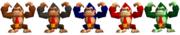 Paleta de colores Donkey Kong SSB.png