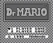Pantalla de titulo de Dr. Mario (Game Boy).jpg