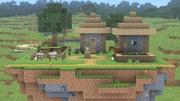 Mundo de Minecraft (Smash para 8) (Versión Omega) SSBU.jpg