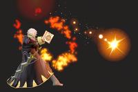 Vista previa de Arcfire en la sección de Técnicas de Super Smash Bros. Ultimate