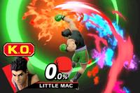 Vista previa de Gancho noqueador en la sección de Técnicas de Super Smash Bros. Ultimate