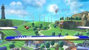Aldeano y Olimar en las Islas Wuhu (2) SSB4 (Wii U).jpg