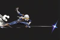 Vista previa de Tormenta de cuchillas en la sección de Técnicas de Super Smash Bros. Ultimate