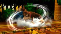 Peonza Kong en tierra en Super Smash Bros. para Wii U