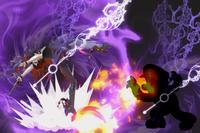 Vista previa de Tiempo Brujo en la sección de Técnicas de Super Smash Bros. Ultimate