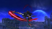 Ataque Aéreo Hacia Atrás Bayonetta SSB Wii U.jpg
