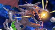 Ridley cargando su ataque especial normal SSBU.jpg