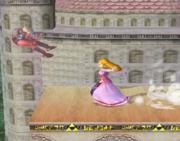Lanzamiento trasero de Zelda (2) SSBM.png