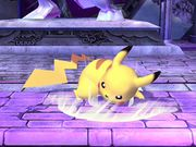 Ataque fuerte inferior Pikachu SSBB.jpg