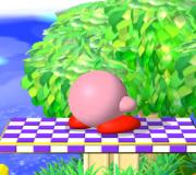 Pose de espera de Kirby (1) SSBM.png