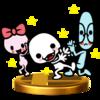 Trofeo de Boliche, Gafotas y Lacito SSB4 (Wii U).png