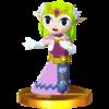 Trofoe de Zelda (Spirit Tracks) SSB4 (3DS).png