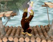 Lanzamiento hacia arriba de Donkey Kong (4) SSBM.png