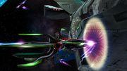Fox y Samus Zero en la Estacion Espacial SSB4 (Wii U) (2).jpg