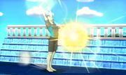 Entrenador de Wii Fit usando Saludo al sol SSB4 (3DS).JPG