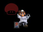 Pose de victoria Dr. Mario X (2) SSBM.png