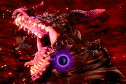 Vista previa de Clímax infernal en la sección de Técnicas de Super Smash Bros. Ultimate