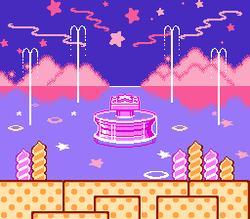 La Fuente de los Sueños en Kirby's Adventure.