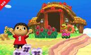 El Aldeano junto al Capitán en la Isla Tortimer SSB4 (3DS).jpg
