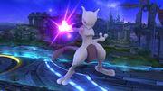 Burla hacia abajo Mewtwo (derecha) SSB4 (Wii U).JPG