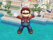Ataque aéreo hacia abajo (4) Mario SSBB.jpg