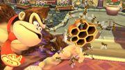 Abejas atacando a Doney Kong SSB4 (Wii U).jpeg