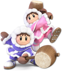 Art oficial de Ice Climbers en Super Smash Bros. Ultimate