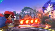 Mario atacando a Sonic con la Barrera de fuego SSB4 (Wii U).jpg